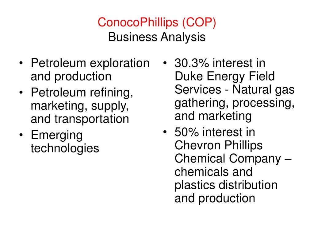 Petroleum exploration and production
