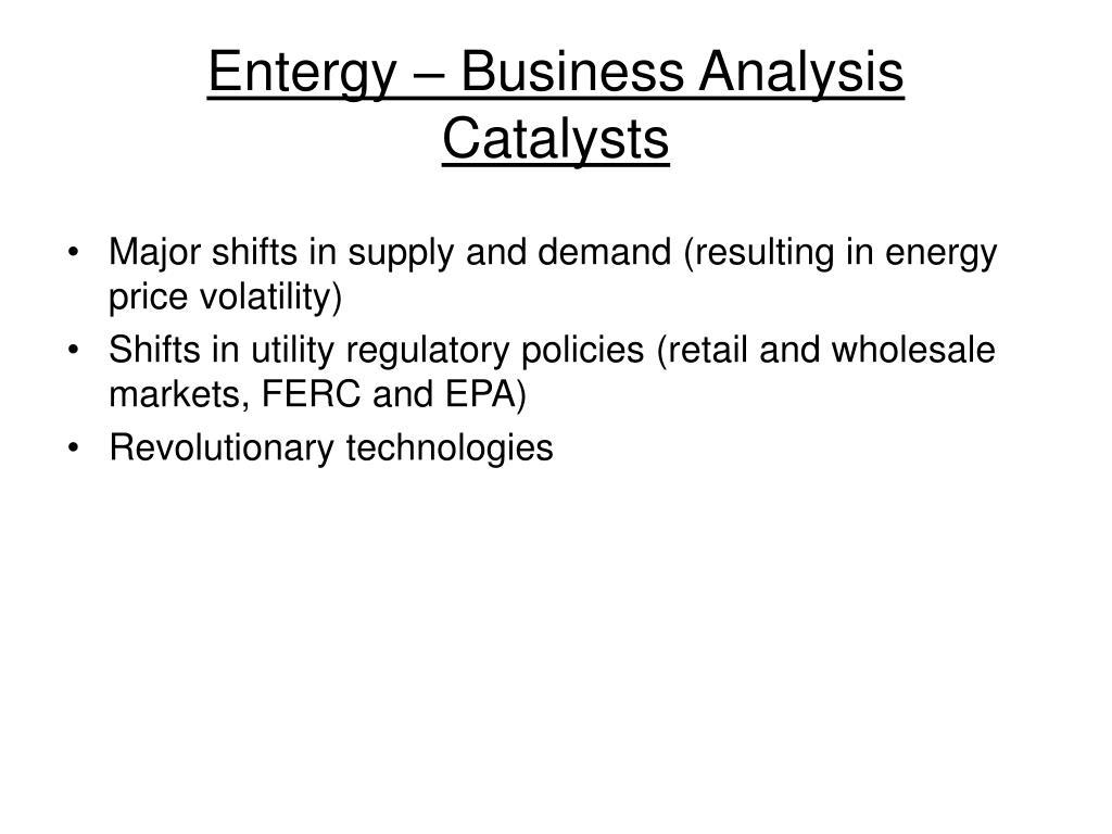 Entergy – Business Analysis