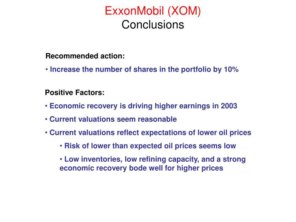 ExxonMobil (XOM)
