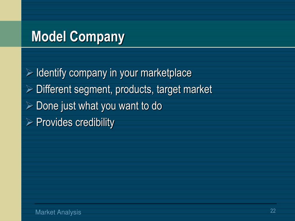 Model Company