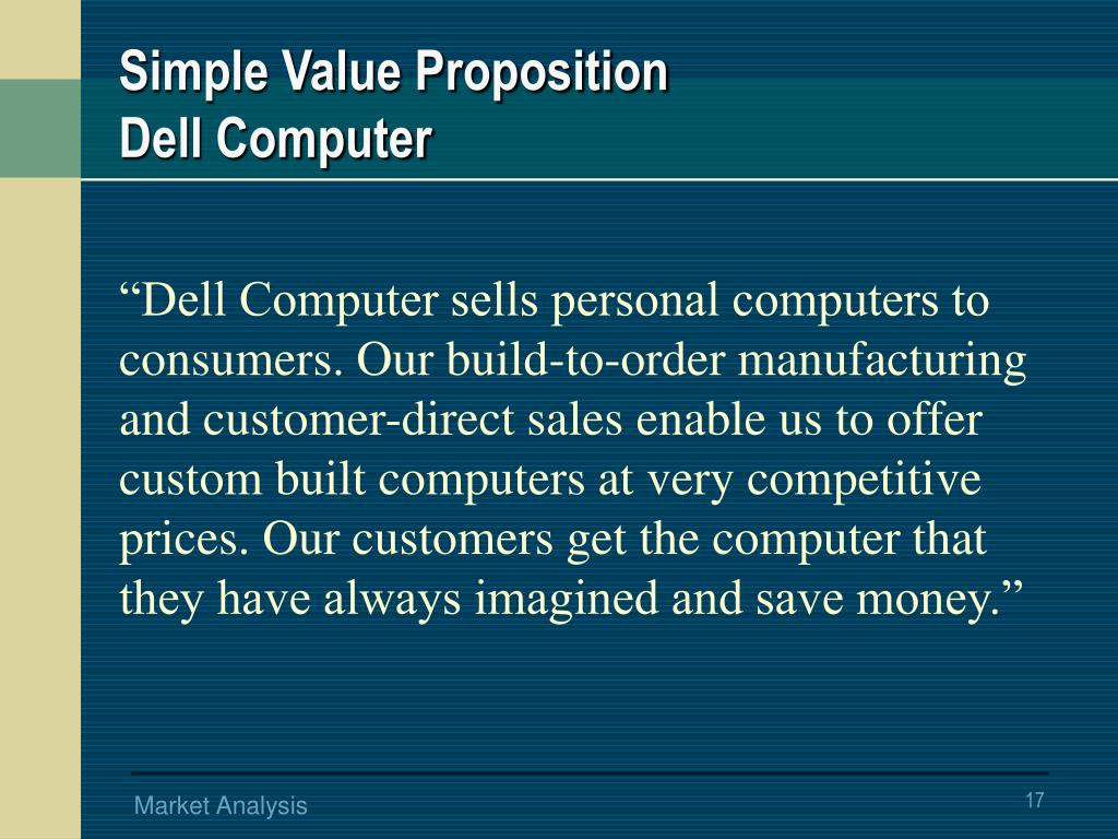 Simple Value Proposition