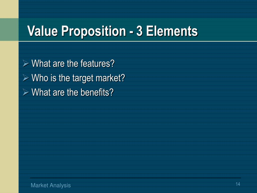 Value Proposition -