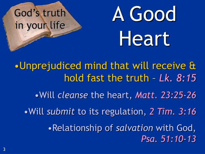 God s truth in your life