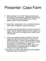 presenter case farm