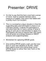 presenter drive22