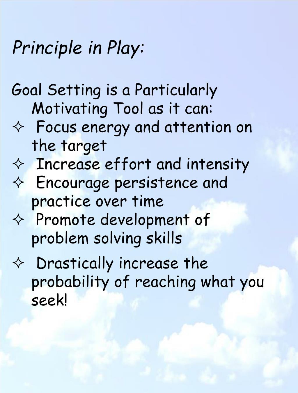 Principle in Play: