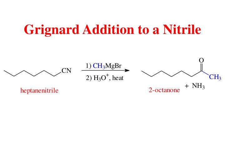 Grignard Addition to a Nitrile