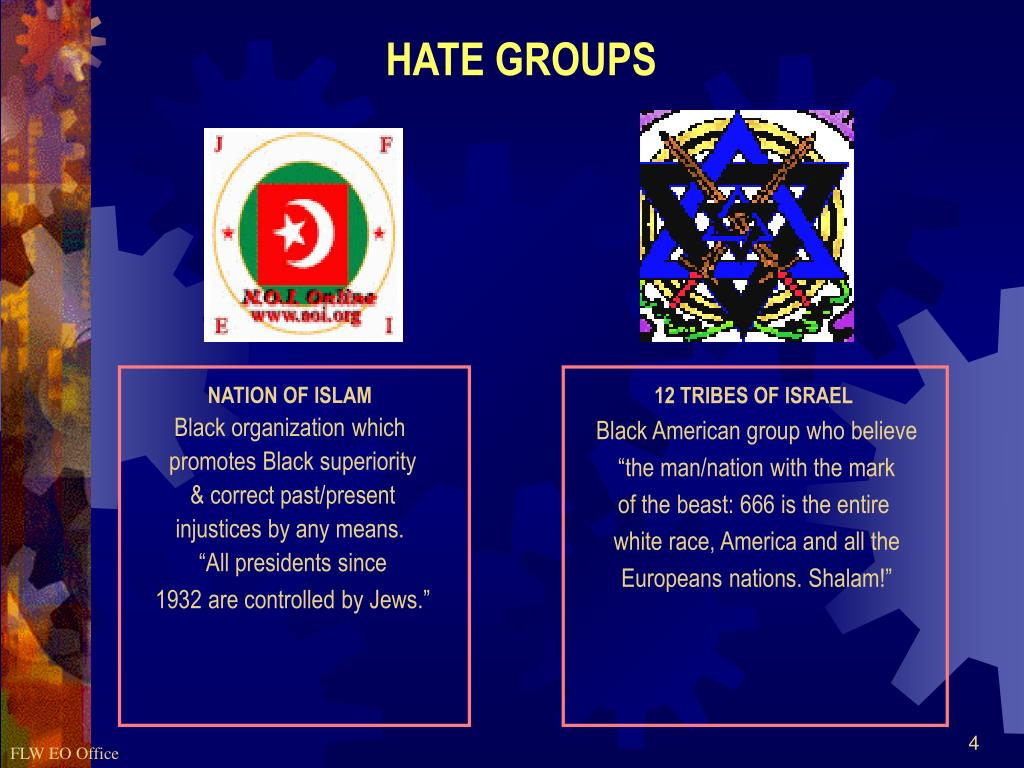 HATE GROUPS