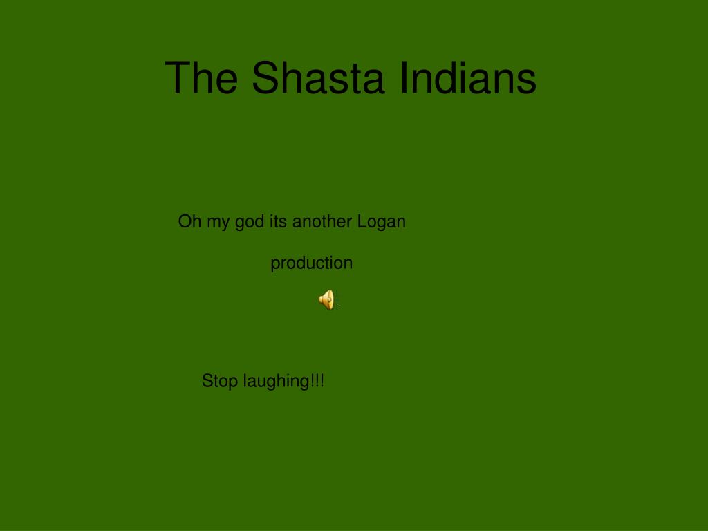 The Shasta Indians
