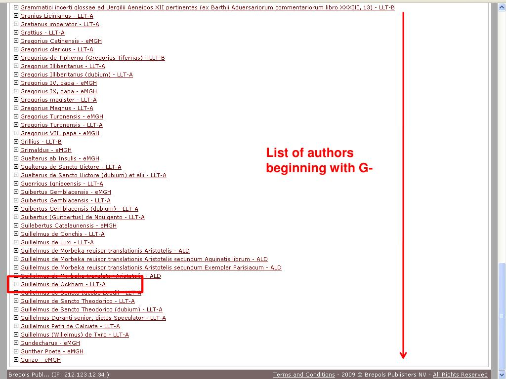 List of authors beginning with G-