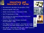 innovations and innovators of torino