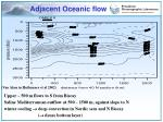 adjacent oceanic flow