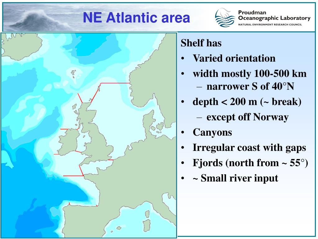 NE Atlantic area