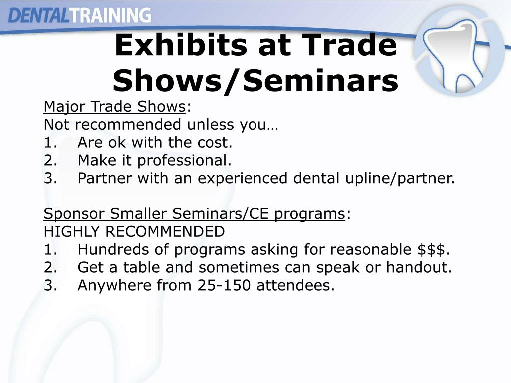 Exhibits at Trade