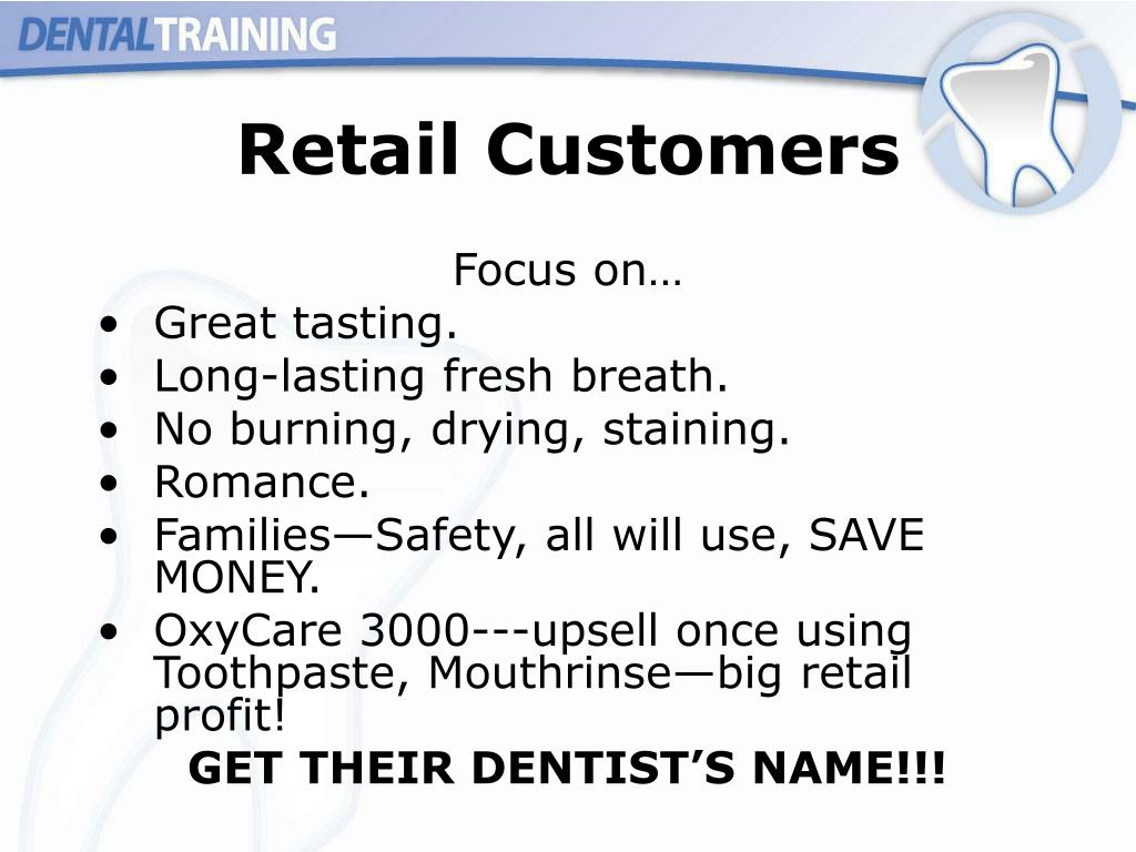 Retail Customers