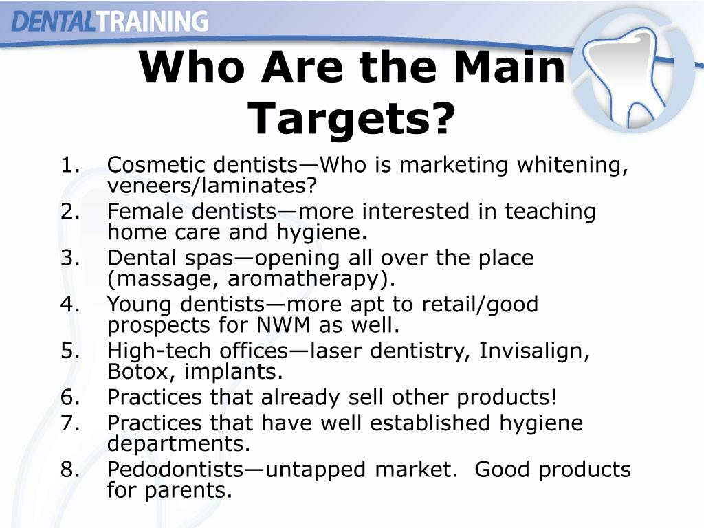 Who Are the Main Targets?