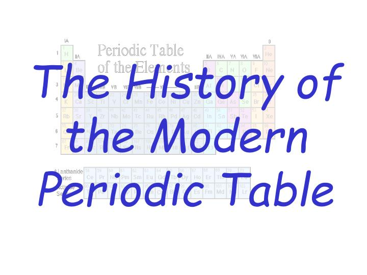 The history of the modern periodic table l.jpg
