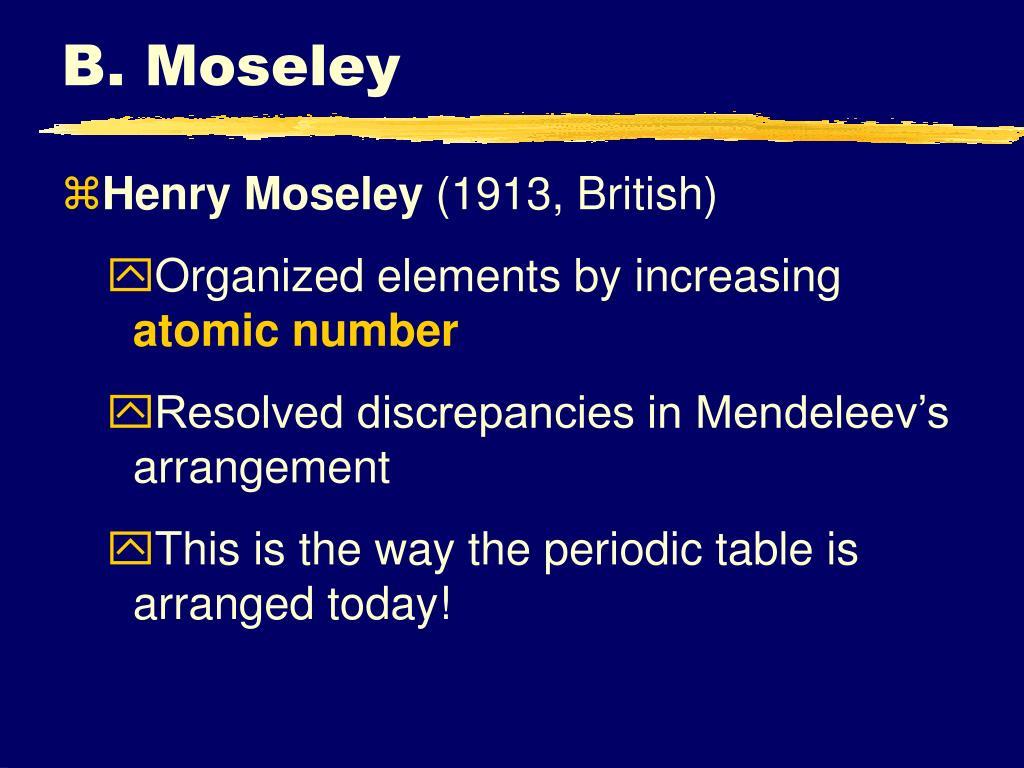 B. Moseley