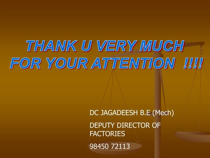 THANK U VERY MUCH
