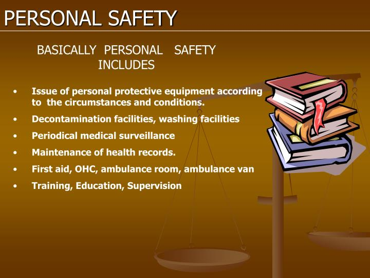 PERSONAL SAFETY