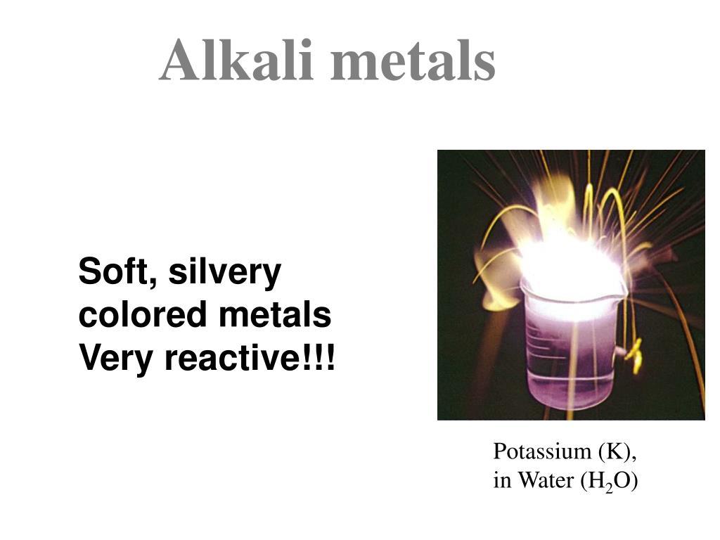 Potassium (K), in Water (H