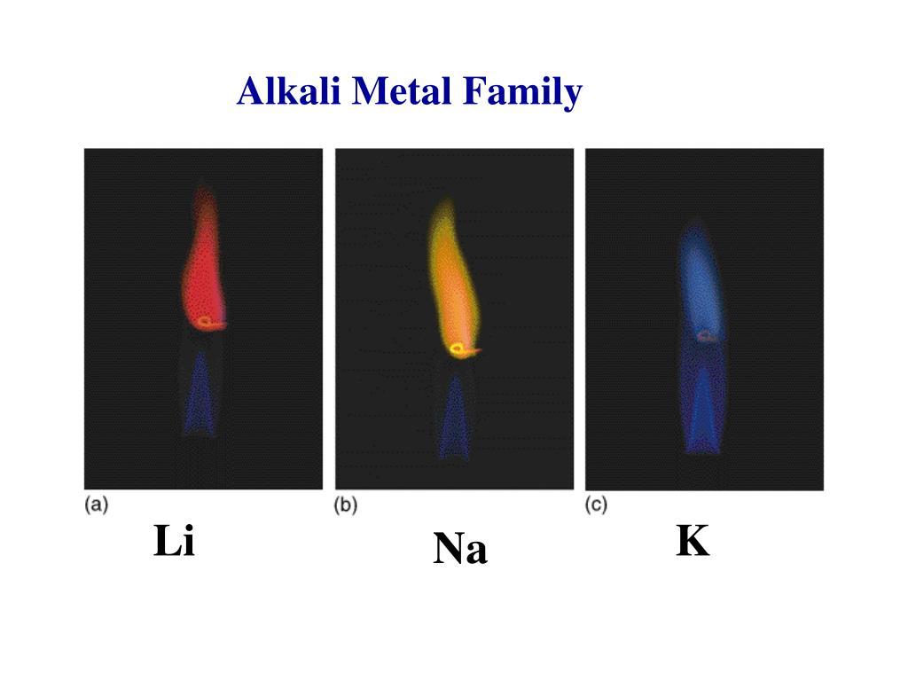 Alkali Metal Family
