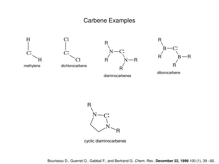 Carbene Examples
