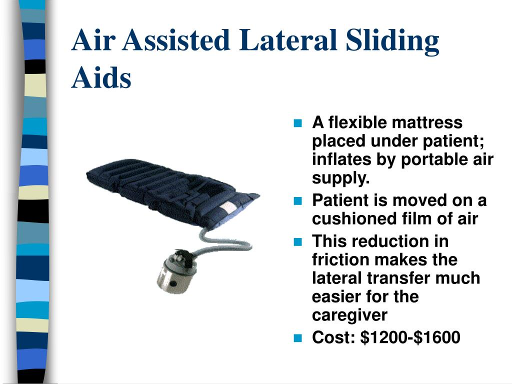Air Assisted Lateral Sliding Aids