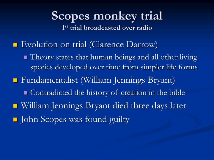 Scopes monkey trial