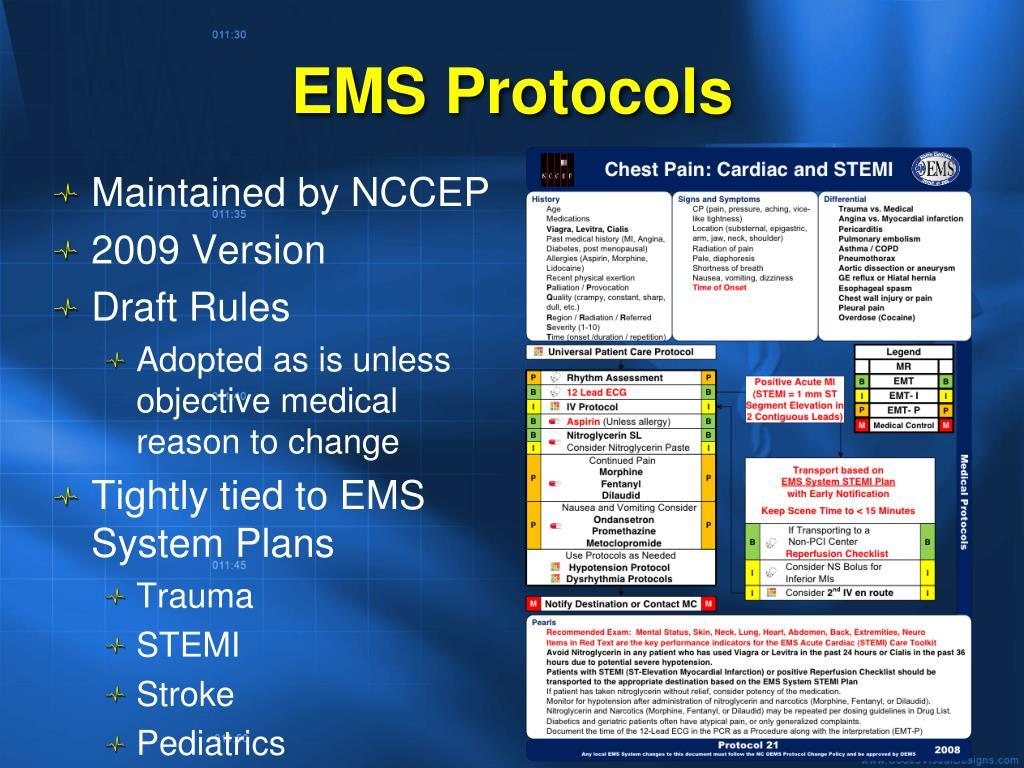 EMS Protocols