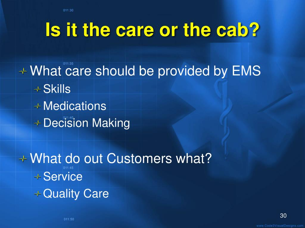Is it the care or the cab?