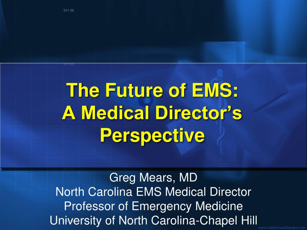 The Future of EMS: