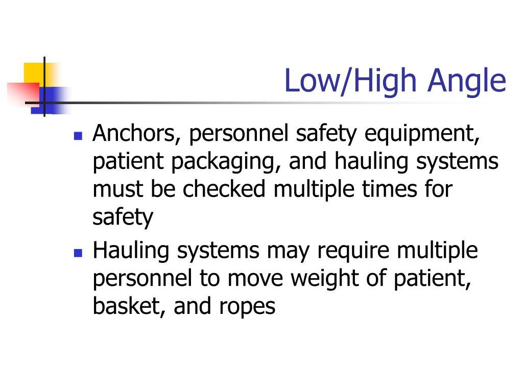 Low/High Angle