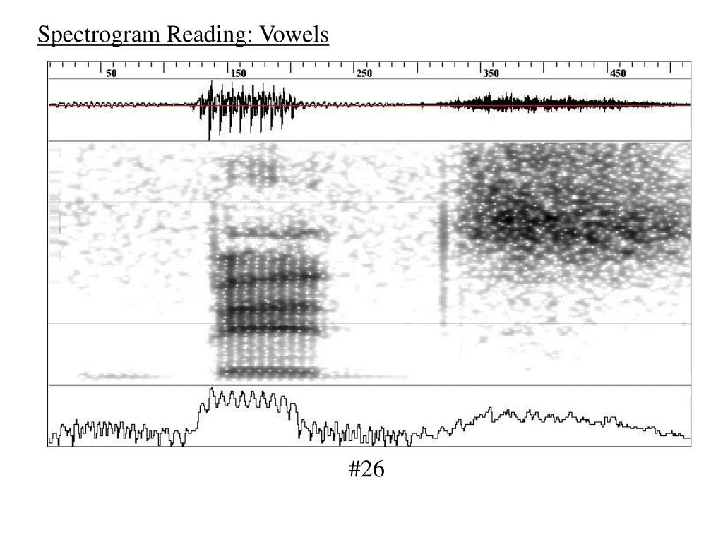 Spectrogram Reading: Vowels