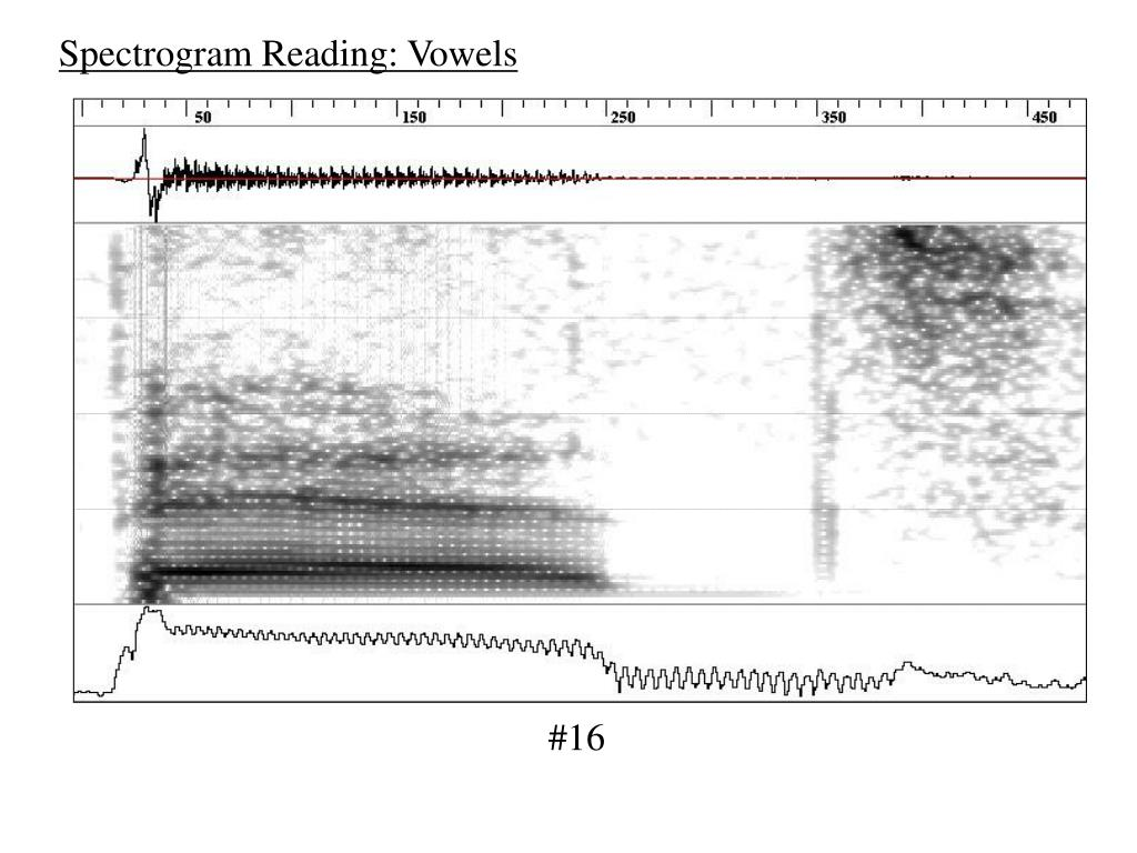 Spectrogram Reading: Vowels