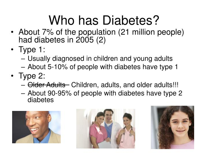 Who has Diabetes?