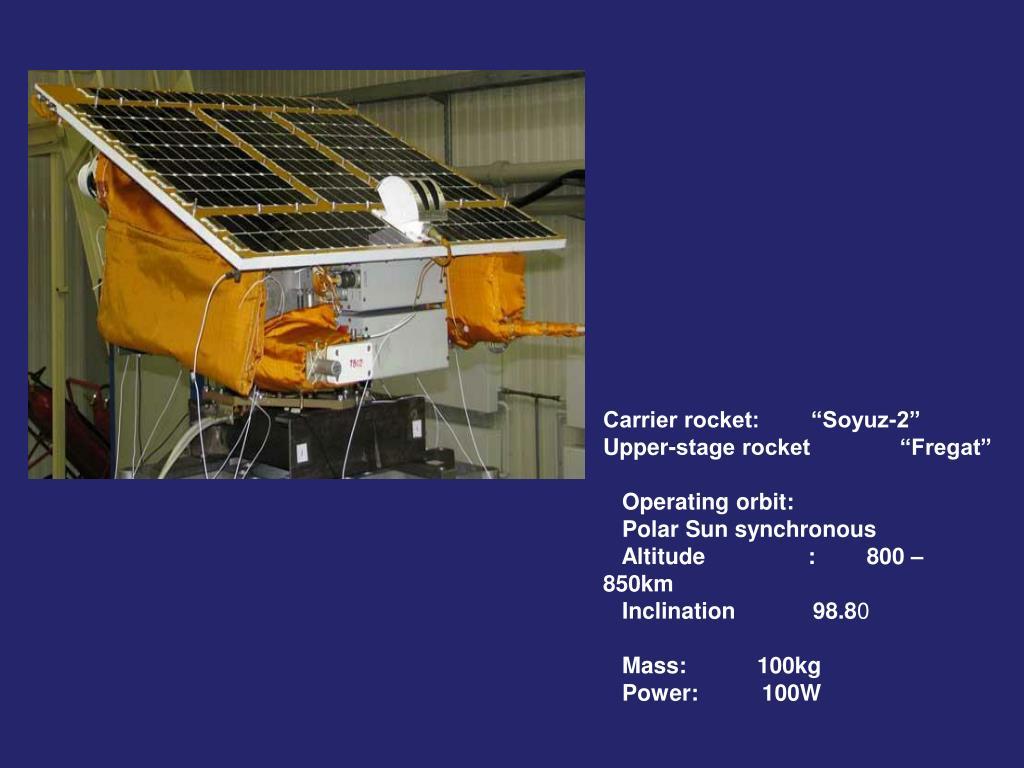 """Carrier rocket:        """"Soyuz-2""""          Upper-stage rocket              """"Fregat"""""""
