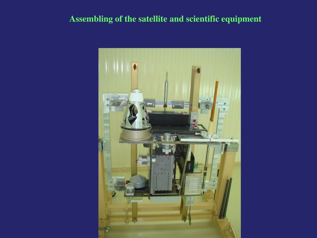 Assembling of the satellite