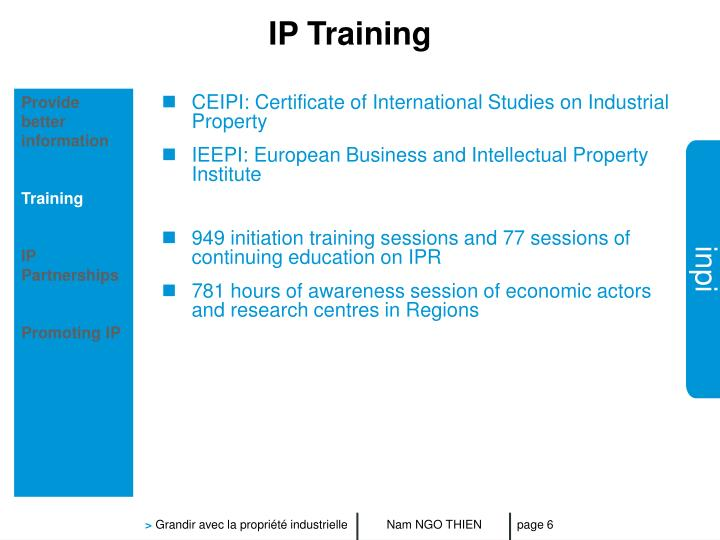 IP Training