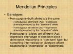 mendelian principles31