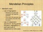 mendelian principles32