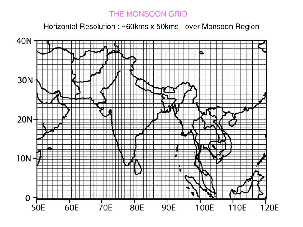 THE MONSOON GRID
