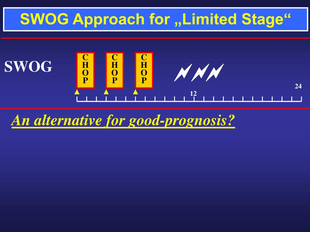 """SWOG Approach for """"Limited Stage"""""""