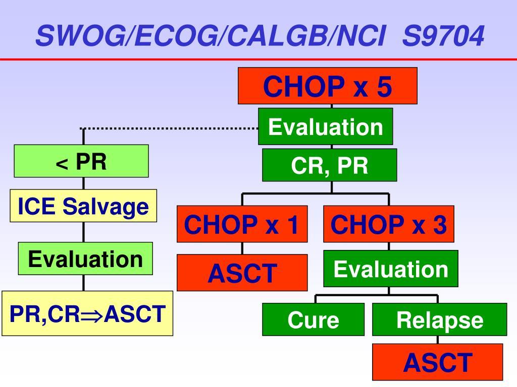 SWOG/ECOG/CALGB/NCI  S9704