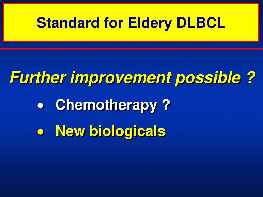 Standard for Eldery DLBCL