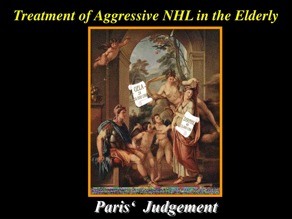 Treatment of Aggressive NHL in the Elderly