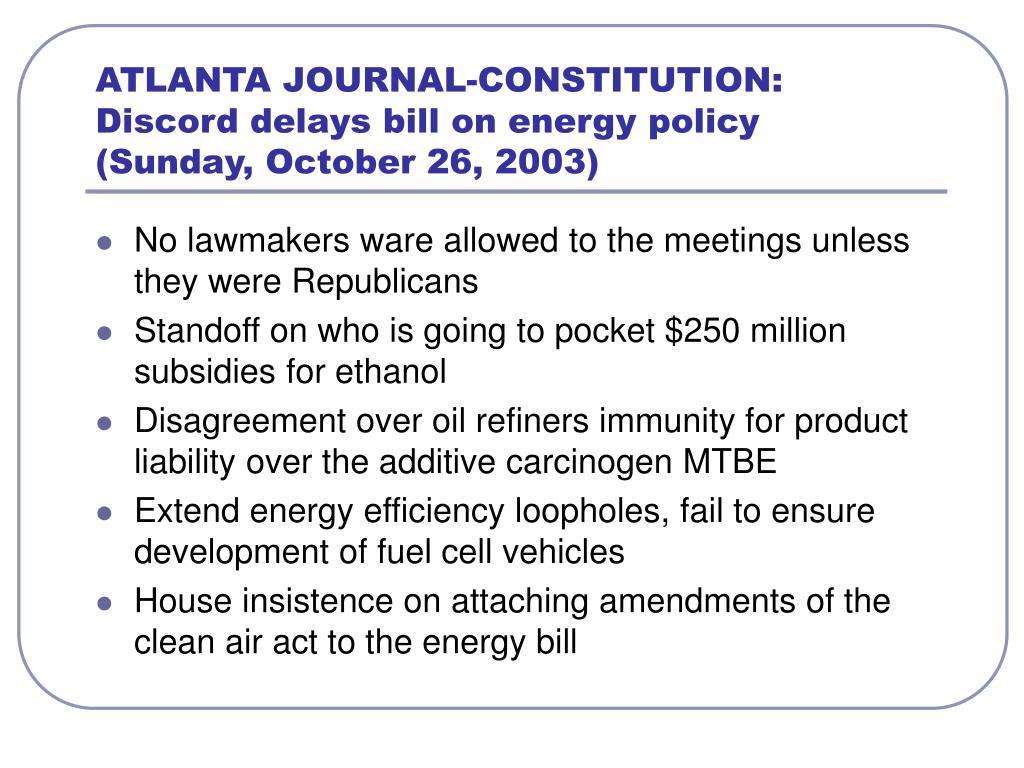 ATLANTA JOURNAL-CONSTITUTION: