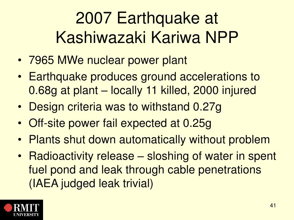 2007 Earthquake at