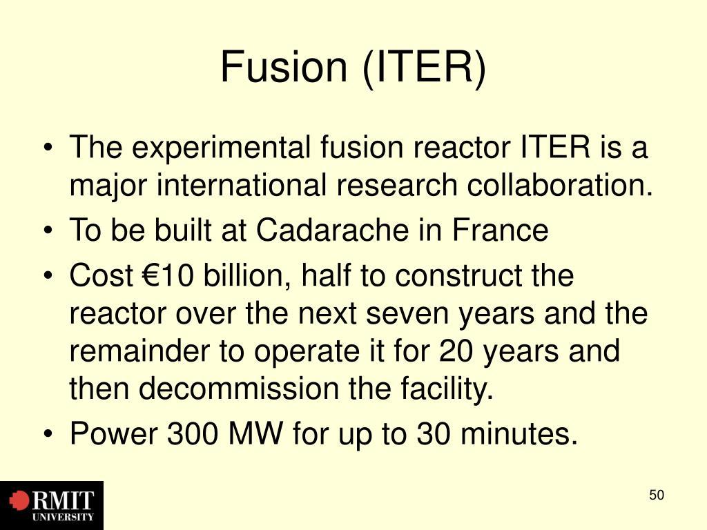Fusion (ITER)