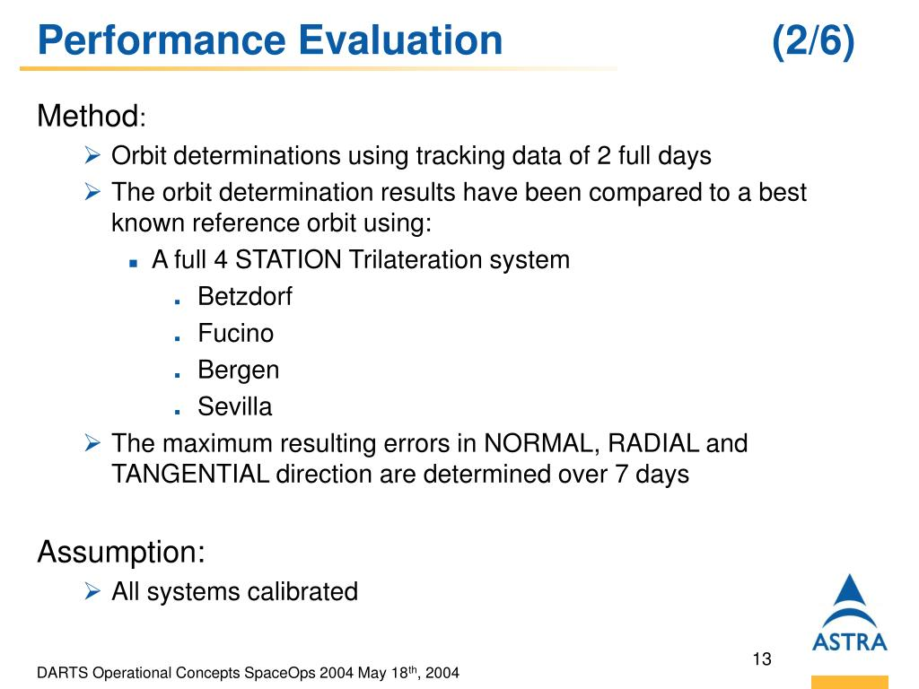 Performance Evaluation   (2/6)